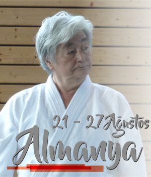ALMANYA, 8.Dan Yoshimitsu Yamada Shihan Semineri Ağustos 2016