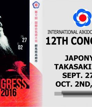 JAPONYA,ULUSLARARASI 12. AİKİDO KONGRESİ